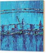 Lake View Cleveland Wood Print