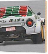 Lancia Stratos Rear Wood Print