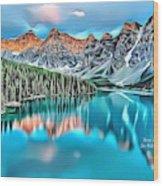 Landscapes 31 Wood Print
