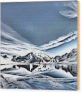 Landscapes 40 Wood Print