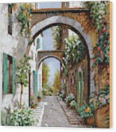 L'arco Dell'angelo Wood Print