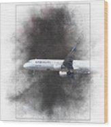 Latam Brasil Airbus A321-211 Painting Wood Print