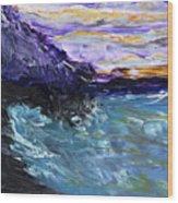 Lava Cove Wood Print