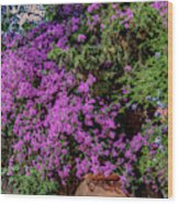 Lavender River Wood Print