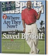 Lawrence Taylor, Former Nfl Player Sports Illustrated Cover Wood Print