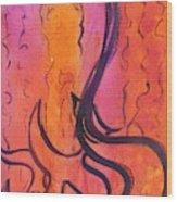 Leah Laya 3 Wood Print