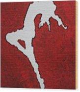 Leap Of Faith Original Painting Wood Print
