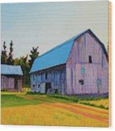 Lee Farm Wood Print