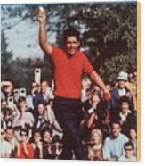Lee Trevino, 1968 Us Open Sports Illustrated Cover Wood Print