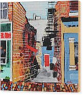 Leesburg Historic District I 201907 Wood Print