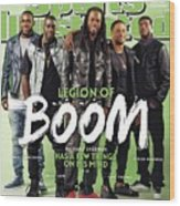 Legion Of Boom, Super Bowl Xlix Preview Sports Illustrated Cover Wood Print