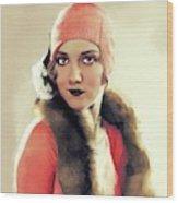 Leila Hyams, Vintage Actress Wood Print