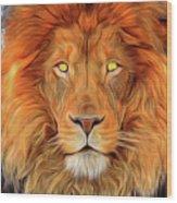 Leo 2a Wood Print