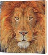 Leo 2b Wood Print