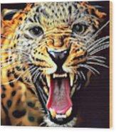 Leopard 2 Wood Print