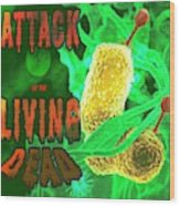 Life Poster Wood Print