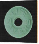 Life Savers Spear O Mint Wood Print