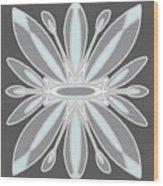 Light Blue Gray Tile Wood Print