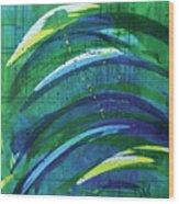 Linear World Wood Print