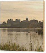 Linlithgow Palace At Dusk Wood Print