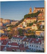 Lisbon. Image Of Lisbon, Portugal Wood Print