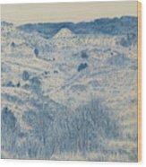 Little Missouri Badlands Enchantment Wood Print