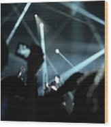 Live At Manchester Central Wood Print