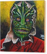 Lizzard V Tv Series  Wood Print