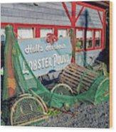 Lobster Pond Restaurant In Halls Harbour Ns Wood Print