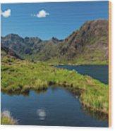 Loch Coriusk, Isle Of Skye Wood Print