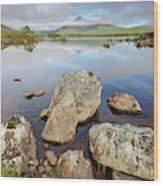Loch La Stainge Wood Print