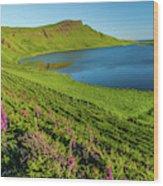 Loch Mor, Glendale, Skye Wood Print