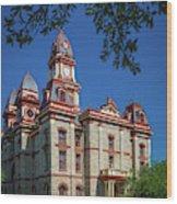 Lockhart Courthouse Wood Print