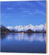 Lofoten Panorama Wood Print