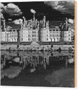 Loire Castle, Chateau De Chambord Wood Print