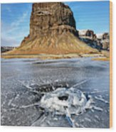 Lomagnupur Mountain Iceland Wood Print