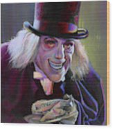 Lon Chaney In London After Midnight Wood Print