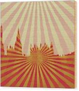 London Pop Art Wood Print