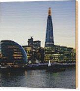 London South Bank 1 Wood Print