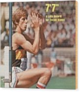 Long Beach State Dwight Stones, 1976 Ncaa Championships Sports Illustrated Cover Wood Print