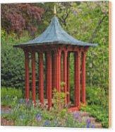 Long Hill Sedgwick Gardens Wood Print