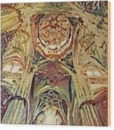 Looking Up Salamanca Cathedral Wood Print