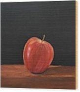 Lopsided Apple Wood Print