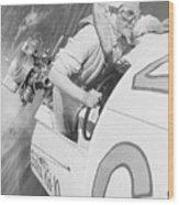 Loretta Turnbull Racing Wood Print