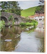Lorna Doone Farm Wood Print