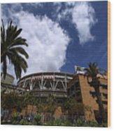 Los Angeles Dodgers V San Diego Padres Wood Print