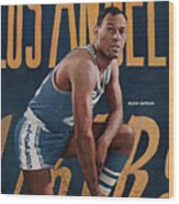 Los Angeles Lakers Elgin Baylor Sports Illustrated Cover Wood Print