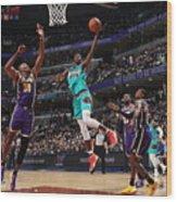 Los Angeles Lakers V Memphis Grizzlies Wood Print