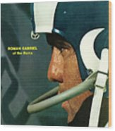 Los Angeles Rams Qb Roman Gabriel Sports Illustrated Cover Wood Print
