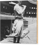 Lou Gehrig Before The Game Wood Print